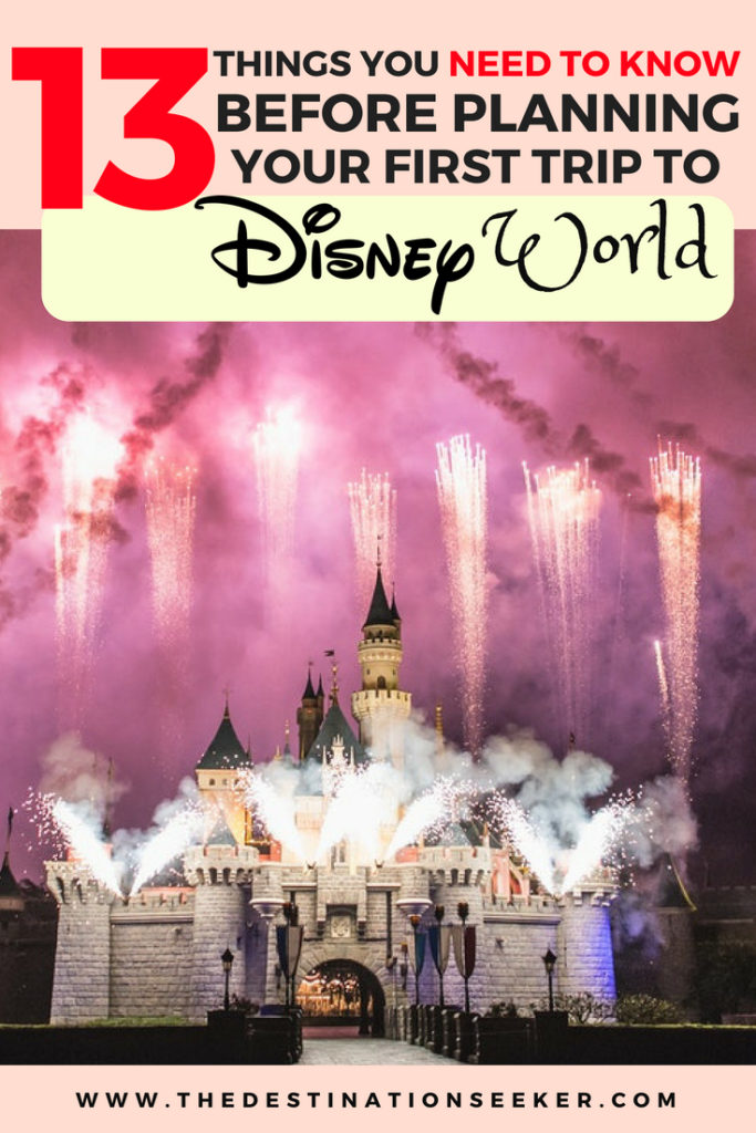 Things to know before Your Disney Trip