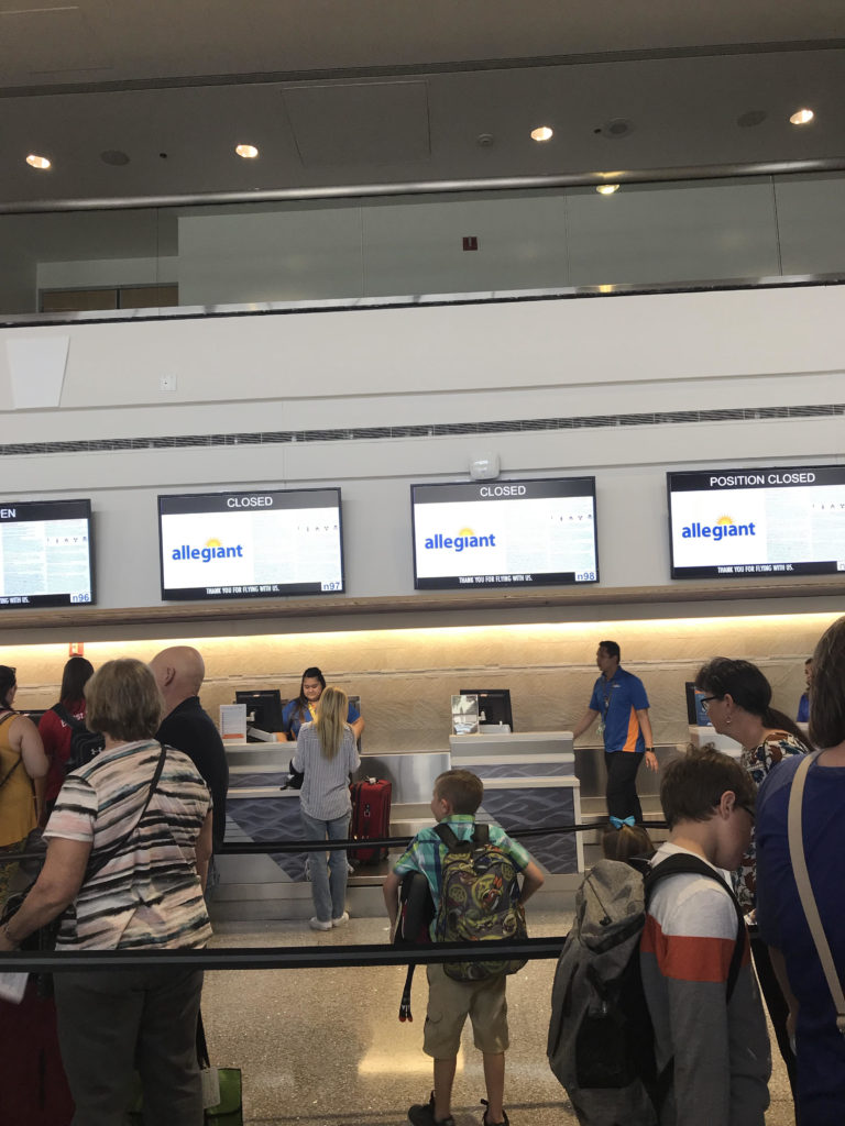 Allegiant Air terminal