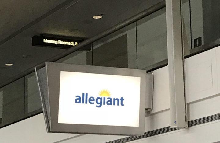 Allegiant Air in Wichita