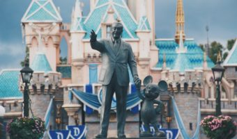 The statue at Disneyland.