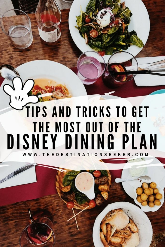 How to get the most out of the Disney Dining Plan