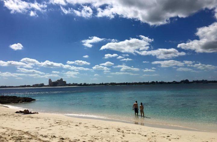The Beach in the Bahamas