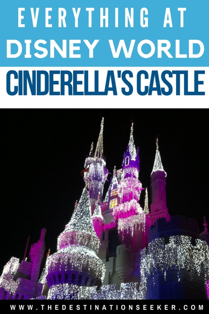 Everything at Disney World's Cinderella's Castle #Travel #Disney #CinderellasCastle