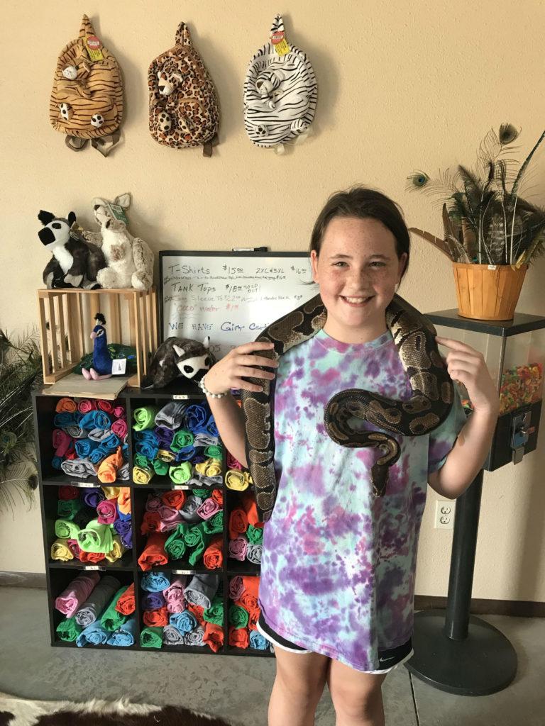 Lost Creek Safari snake
