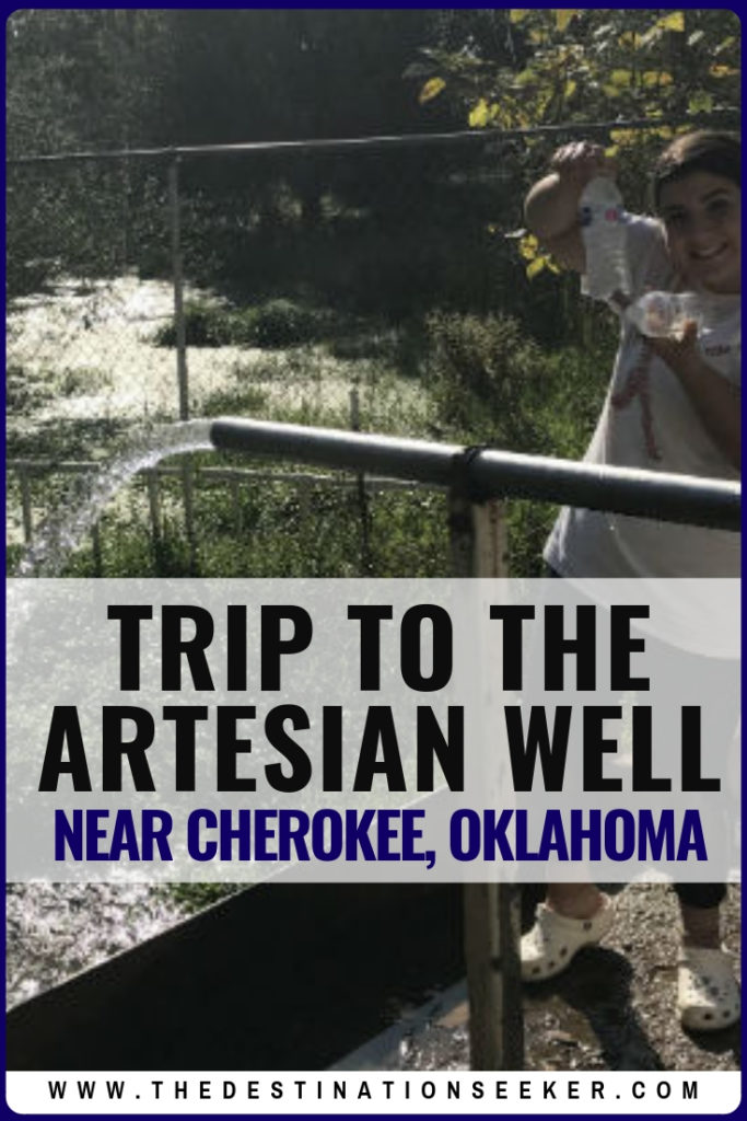 Artesian Well in Oklahoma