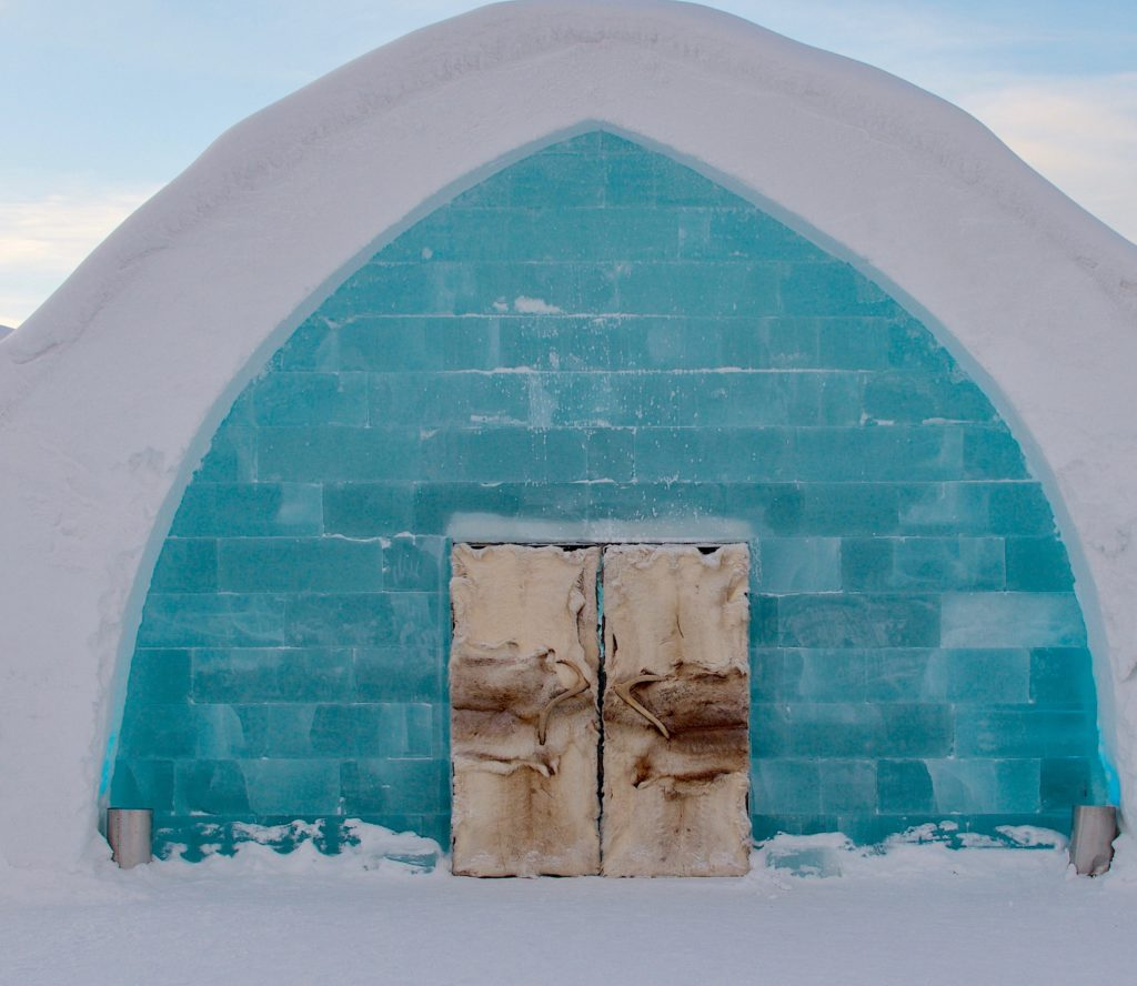 Ice Hotel, Jukkasjärvi, Sweden, photo by Georgia Makitalo