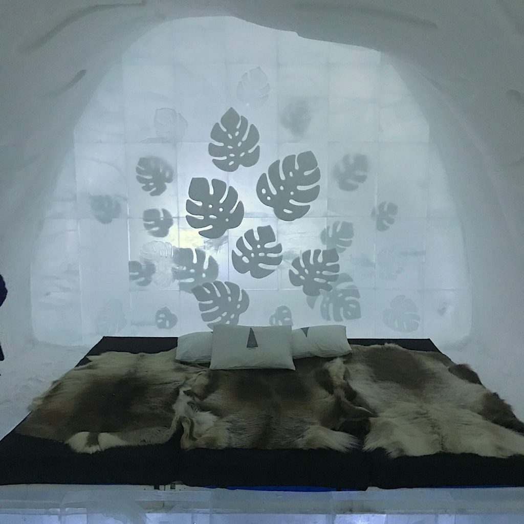 Ice Hotel room, Georgia Makitalo photographer