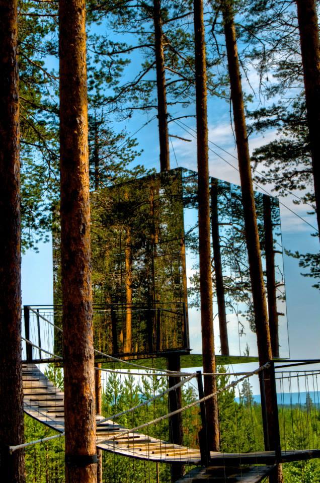 Mirrorcube, Treehotel, Sweden-photo by Georgia Makitalo