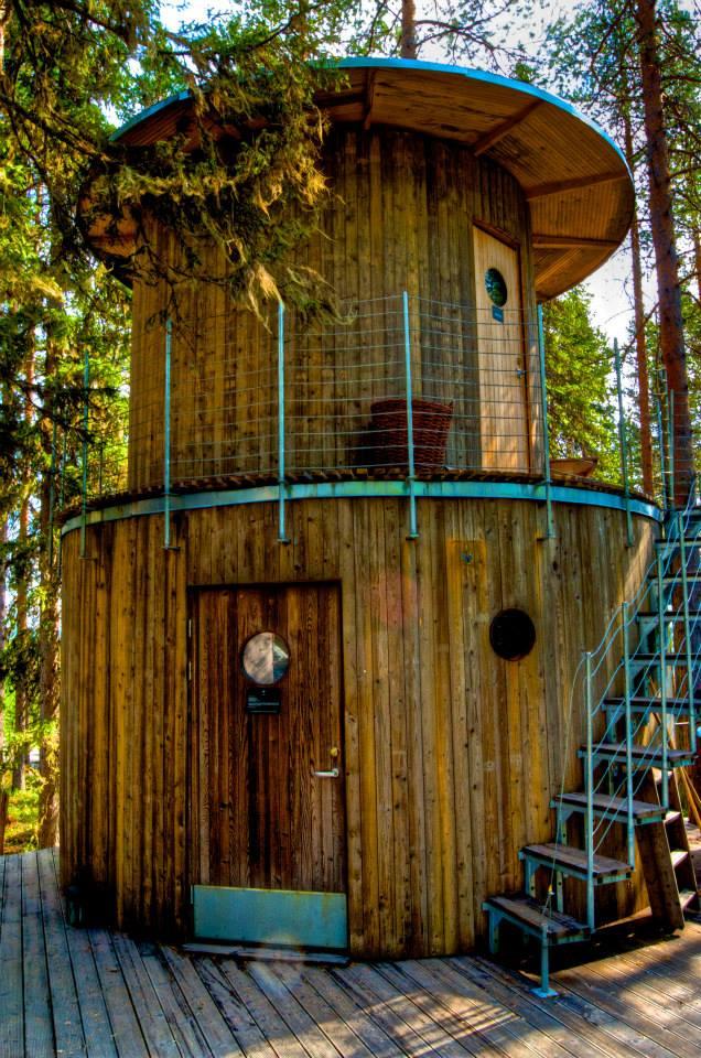 Treehotel Sauna, Treehotel Sweden-photo by Georgia Makitalo