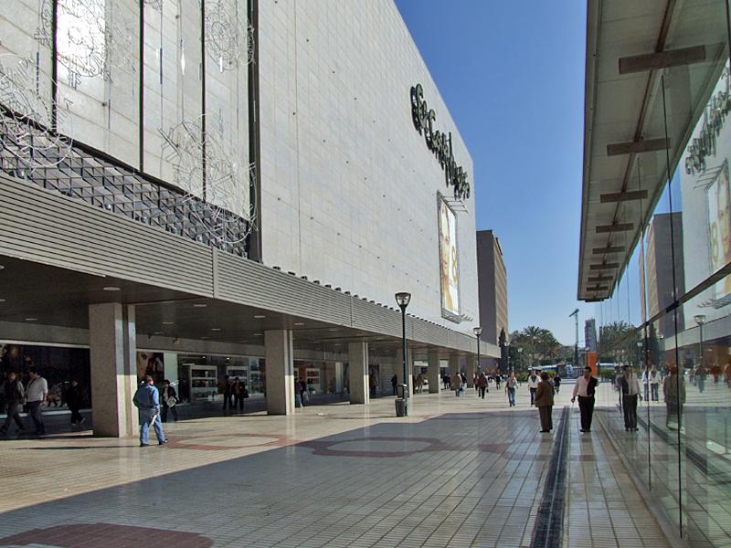El Corte Ingles, Malaga