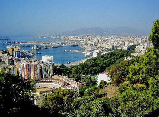 View of Malaga