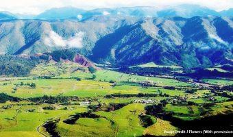 New Zealand Takaka Hidden valley