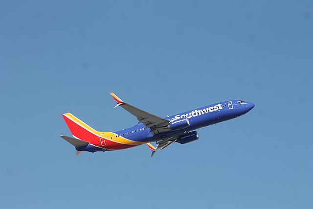 Southwest Airlines Wikimedia Commons